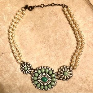 J Crew Vintage Style Pearl Necklace